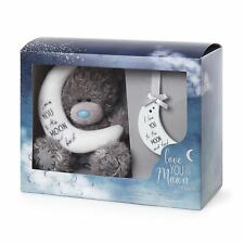 "Me to You ""Love You to the Moon and Back"" Tatty Teddy Bear and Plaque Gift Set"