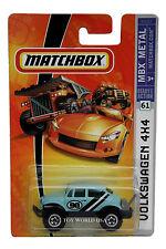 2008 Matchbox #61 MBX METAL Volkswagen Beetle 4x4 K9517-0910
