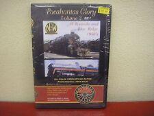 Pocahontas Glory Vol 2 DVD Herron Rail Video N&W Steam Roanoke Blue Ridge