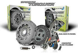 Blusteele clutch kit for PEUGEOT 4007 ST 2.2 litre DW12 & NEW dual mass FLYWHEEL