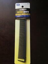 Conair Carbon Smooth Antistatic Cutting Comb, Eliminates Flyaways