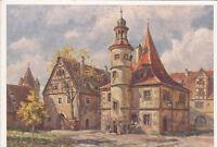 GERMANY - Rothenburg ob der Tauber - Hegereiterhaus - Paul Sollmann