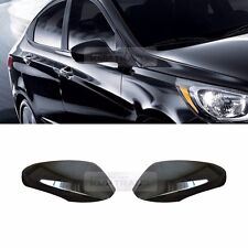 OEM Genuine Parts Black Side Mirror Cover 2Pcs for HYUNDAI 2011-2016 2017 Accent
