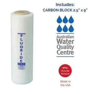 AWESOME WATER® FILTER - Fluoride Removal Filter - Under Sink