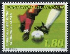 Liechtenstein 2002 SG#1276 World Cup Football MNH #D2054