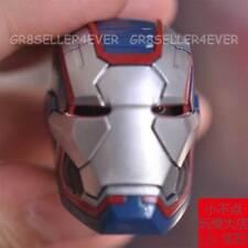 "Free Shipping 1/6 Head Sculpt Iron Man 3 Iron Patriot Don Cheadle 12"" body toys"