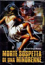 DVD USATO Morte Sospetta Di Una Minorenne - 1975  Sergio Martino