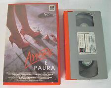 amore e paura 1988 vhs RARA