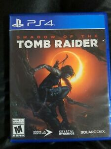 Shadow of The Tomb Raider (Playstation 4 PS4 2018)