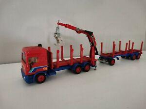 Grand camion marque Siku transport semi remorque  1/50 métal