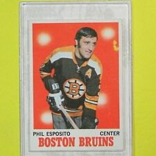 PHIL ESPOSITO  1970-71  VINTAGE  Topps #11   Boston Bruins
