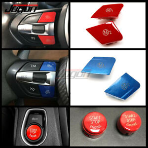 Steering Wheel M1 M2 Button Replace For BMW M3 M4 M5 M6 F20 F21 F80 F30 F34 F32