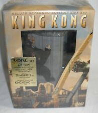 King Kong Deluxe DVD set Factory Sealed