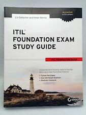 Itil Foundation Exam Study Guide, Paperback, Mint Condition