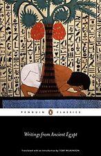 Scritti da ANTICO EGITTO (Penguin Classics) nuovo libro tascabile Toby Wilkinson