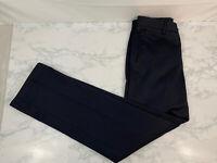 Dockers Men's Signature Khaki D1 Slim Fit Flat Front Pant Blue 29x32 Slacks J