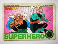 Dragon Ball Z DBZ Cartes Adali série collection Super Hero card part 6 1995 #225