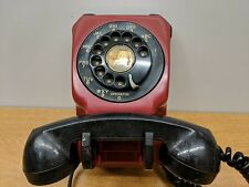 RARE!! VINTAGE ANTIQUE STROMBERG CARLSON UPSIDE DOWN ROTORY RED BLACK
