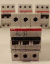 4 ABB  S273K 16 Amp 277/480 VAC 3-Pole VDE0660 Circuit Breaker