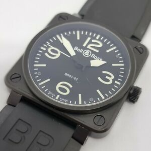 Bell & Ross BR-01-92-S Automatic PVD Steel Men's Watch