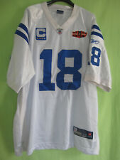 Maillot Indianapolis Colts Manning Football Americain Super Bowl jersey - 54