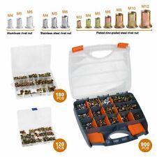 Rivet Gun Kit Rivnut Thread Setting Tool Assort Nut Setter Nutsert Mandrel Kits