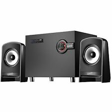 SUPERSONIC BLUETOOTH MULTIMEDIA SPEAKER SYSTEM with USB/SD/AUX INPUT & FM RADIO