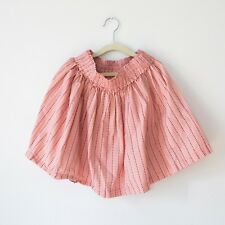 Hanna Andersson coral pink peach cotton girls skirt 140cm US 10