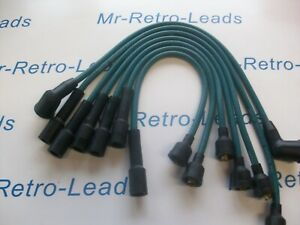 GREEN 7MM IGNITION LEADS MG MGC GT 6 CYLINDER QUALITY HAND BUILT LEADS