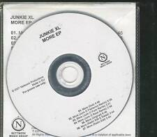 JUNKIE XL More Ep 7  TRACK PROMO ACETATE TEST PRESSING NETTWERK