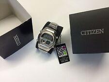 NOS MINT SET Citizen Independent C351 Ana-Digi 1481010 Digital LCD watch uhr MOT