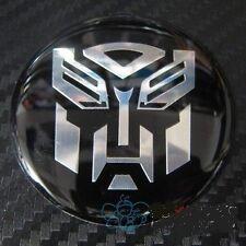 Tyre Wheel Center Hub Cap Aluminum Emblem Badge Transformers Autobot
