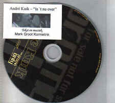 Andre Kuik-Is T Nu Over Promo cd single