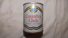 Vintage Country Club Malt Liquor 8 oz Beer Can Steel am