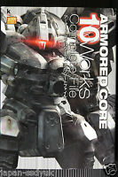 JAPAN Armored Core 10 Works Complete File (Book)