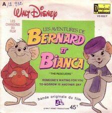 """45 TOURS BOF/OST """"Bernard & Bianca"""" 1977 WALT DISNEY"""