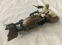 Star Wars Jedi Force Rebel Speeder Bike w/ Endor Luke Skywalker Figure