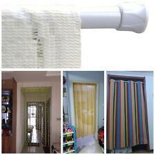 Hot New Rods Voile Extendable Tension Telescopic Pole Spring Net Shower Curtain