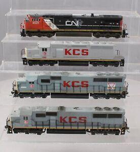 Athearn & Other HO Scale KCS&CN Diesel Locomotives [4]