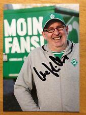 Uwe Kühle AK SV Werder Bremen Autogrammkarte 2019-20 handsigniert