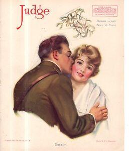 1918 Judge December 21 - Edna Crompton; Texas six-shooter Ettiquette; Uncle Sam