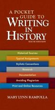 A Pocket Guide to Writing in History by Mary Lynn Rampolla (2009, Paperback)
