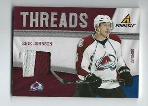 2011-12 Pinnacle Threads Prime #56 Erik Johnson 26/50