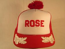 Vintage Hat Ladies Cap ROSE [Z99b2]