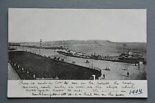 R&L Postcard: Plymouth Hoe 1904, Undivided Back