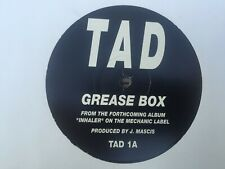 "Tad, Grease Box/ Leafy Incline/ Gouge 12"" vinyl promo, 1993"