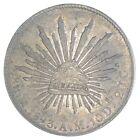 SILVER WORLD COIN 1893 Mexico 8 Reales World Silver Coin 876