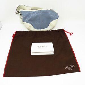 Coach Signature Mini Hobo Purse w/ Bag and Inserts - Handbag