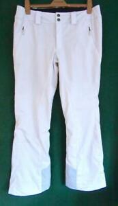 """NORTH FACE Womens 38"""" Waist Arxy Winter-White Soft Snow Ski Trousers SALOPETTES"""