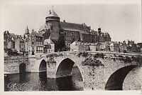 BF12443 laval et le pont vieux chateau france front/back image